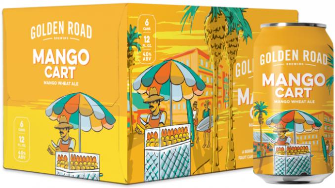 Golden Road Brewing Mango Cart