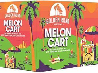 Golden Road Brewing Melon Cart