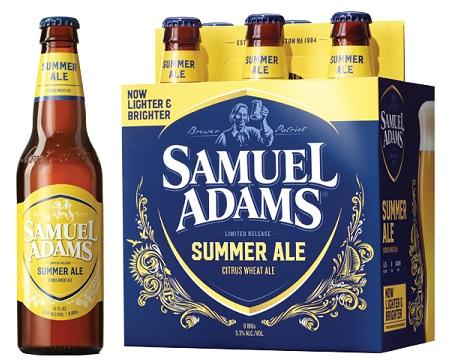 Samuel Adams Citrus Wheat Summer Ale