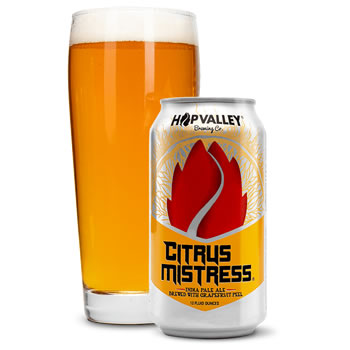 Hop Valley Citrus Mistress IPA
