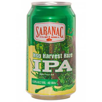 Saranac Hop Harvest Haze IPA
