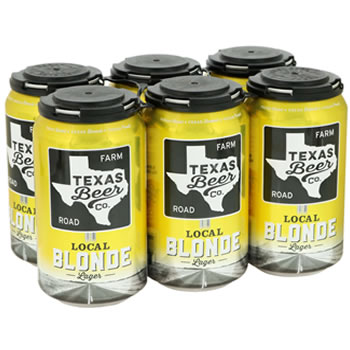 Texas Beer Company Local Blonde