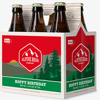 Alpine Hoppy Birthday Pale Ale