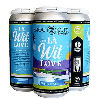 Smog City From LA Wit Love White Ale