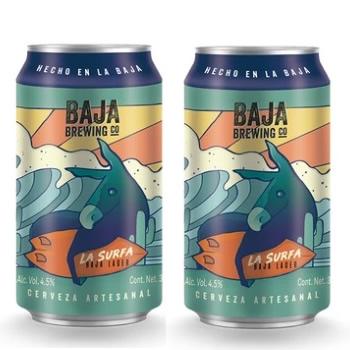 Baja Brewing La Surfa Baja Lager