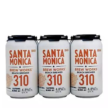 Santa Monica Brew Works 310 California Blonde Ale
