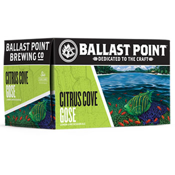 Ballast Point Citrus Cove Gose