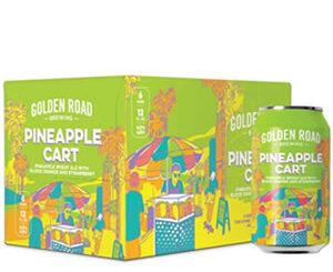 Golden Road Pineapple Cart