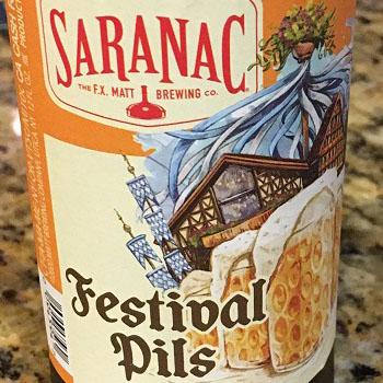 Saranac Festival Pils