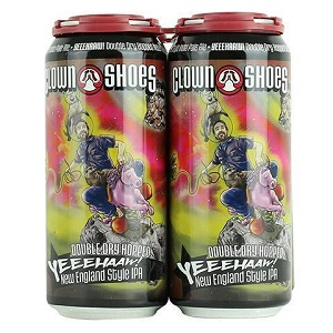 Clown Shoes Double Dry Hopped Yeeehaaw New England IPA
